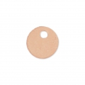 Round Sequin 6 mm Rose Gold Filled x 1