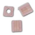 Cubes Miyuki 4mm SB4-2644- Dusty Rose Light Rose Lined x10g