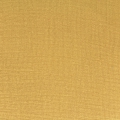 Double gauze cotton Fabric Yellow Mustard x10cm