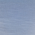 Double gauze cotton Fabric Blue x10cm