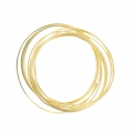 Gold Filled square and hard wire 1mm x1.5m