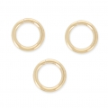 14K Gold filled jumprings open 6x1mm x10