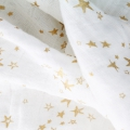 Double gauze cotton Fabric - Embrace collection - Cloud Starry Night x10cm