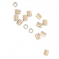Crimp beads 1.6x2 mm 14k Gold filled x20