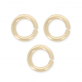 14K Gold filled jumprings open 5 x 1mm x10