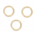 14K Gold filled jumprings open 7 x 1mm x10