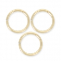 14K Gold filled jumprings open 8 x 1mm x10
