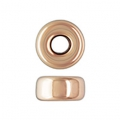 Rondelles 4x2.1 mm Rose Gold filled 14 carats x2