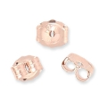 Ear clutches Rose Gold Filled 14 carats x4