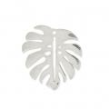 925 Sterling Silver Philodendron's leaf charm 17x15 mm x1