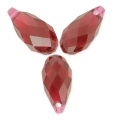 Swarovski Drop 6010 11x5.5mm Scarlet x4