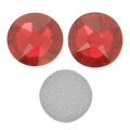 Swarovski stick-on rhinestones 7 mm Scarlet x10
