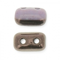 Rullas Duet 3x5 mm Two-tone Black/Opaque Amethyst Luster x10g