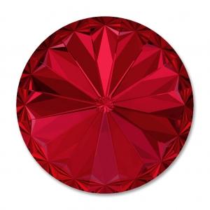 9dba04fe5ddcd Swarovski 1122 Rivoli Round Stone 8 mm Scarlet x1