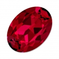 Swarovski 4120 Oval Fancy Stone 8x6mm Scarlet x1