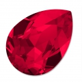 Swarovski 4320 Pear Fancy Stone 10x7 mm Scarlet x1