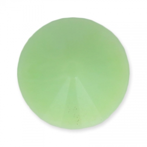 Round Rivoli Cabochon Matubo 12mm Light Mint