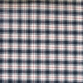 Checked Fabric N.Lena popeline - Red/Navy Blue x10cm