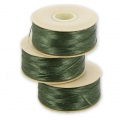 Nymo thread D 0.30 mm Olive 58 m x1