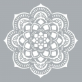 Decorative stencil Home deco XL 45.7 x 45.7 cm Mandalas Rosace