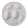 Mini silicone mold for polymer clay and metal paste- Baby