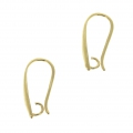 Decorated earstuds 20 mm Gold Tone x2