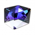 Fancy Stone Swarovski 4933 Tilted Dice 19 mm Crystal Purple x1