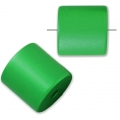 Bead cylinder shape in anodized aluminum 10 mm Green x1