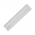 Aluminum ruler - Paper Poetry - 15 cm