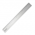 Aluminum ruler - Paper Poetry - 20 cm