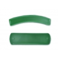 Faceted spacer for bracelet 37x10 mm Aventurine x1