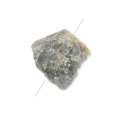 Irregular nugget bead drilled 18-35 mm Labradorite x1