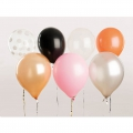12 balloons for festive decoration Yey - Let's Party Mix x1