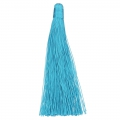 Large tassel without attachment 120 mm for decoration or jewels Turquoise