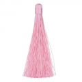 Large tassel without attachment 120 mm for decoration or jewels Pink