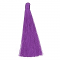 Large tassel without attachment 120 mm for decoration or jewels Purple