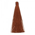 Large tassel without attachment 120 mm for decoration or jewels Brown