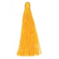 Large tassel without attachment 120 mm for decoration or jewels Yellow