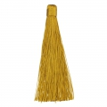 Large tassel without attachment 120 mm for decoration or jewels Gold