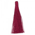 Large tassel without attachment 120 mm for decoration or jewels Bordeaux