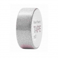 Adhesive Tape  - Paper Poetry Tape 15 mm Glitter Silver x5m