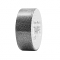 Adhesive Tape  - Paper Poetry Tape 15 mm Glitter Black x5m