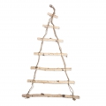 Wall decoration raw wood 80 x 50 cm - Christmas tree - For a DIY decoration