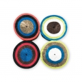 4 crepe paper tapes for festive decoration by Yey - Pirate