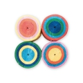 4 crepe paper tapes for festive decoration by Yey - Multicolored