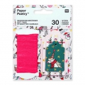 Set of gifts labels Paper Poetry Magical Christmas x30