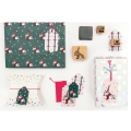 Set of cards and envelopes A6 Paper Poetry Magical Christmas x 6