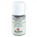 Bottle of ultrafine Effect Glitter powder x10ml - Iridescent Silver