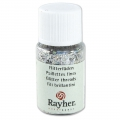 Bottle of ultrafine Effect Glitter powder x10ml - Silver