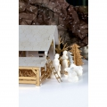 Cardboard Nativity Scene 29x18x14 cm to build and personalize
